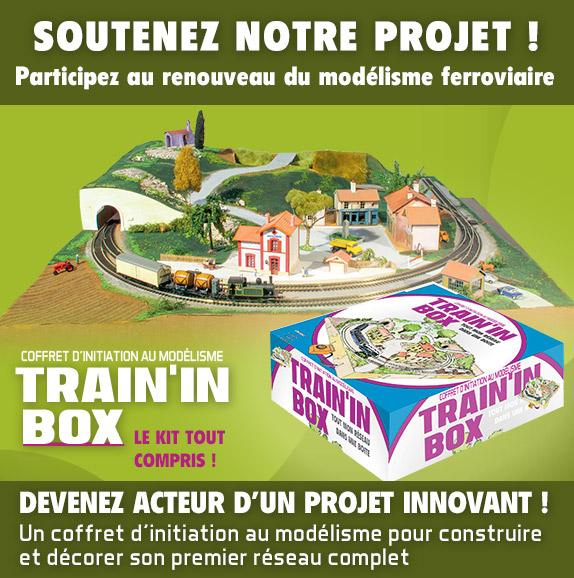 Train'in Box un projet en financement participatif