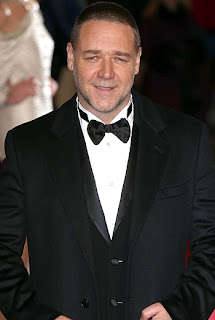 Russell Crowe at the Oscars