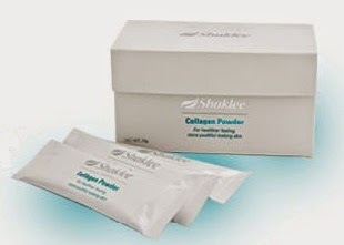 kesan penuaan dikurangkan dengan Collagen powder