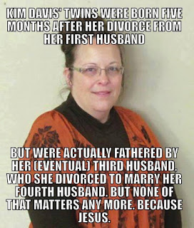 Kim Davis 4 Marriages