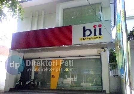 Informasi Bank BII Maybank Pati