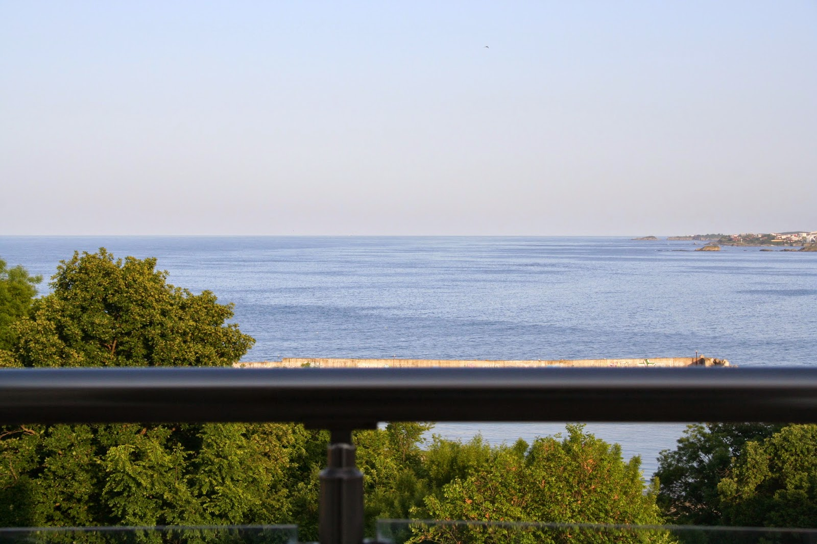Гледка към Черно Море от терасите на Style Place