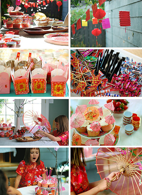 Bless this mess stress asian birthday extravaganza for Asian party decoration ideas