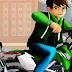 لعبة سباق الدراجات بن تن 10