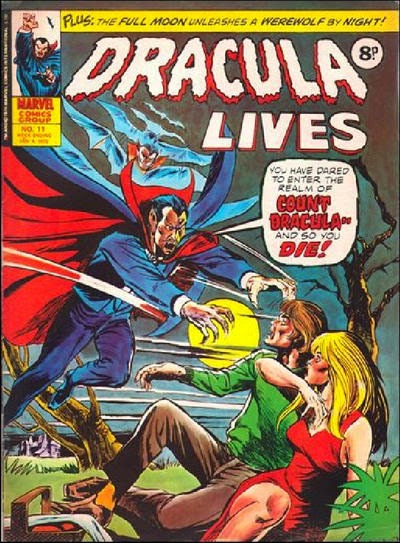 Marvel UK, Dracula Lives #11