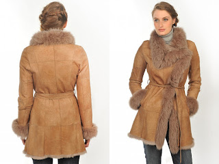 Lady Sheepskin Coat Jacket