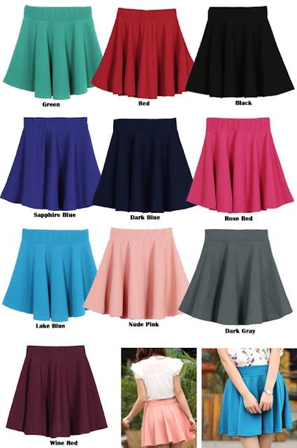 http://www.dresslink.com/women-candy-color-stretch-waist-plain-skater-flared-pleated-mini-skirt-p-9709.html