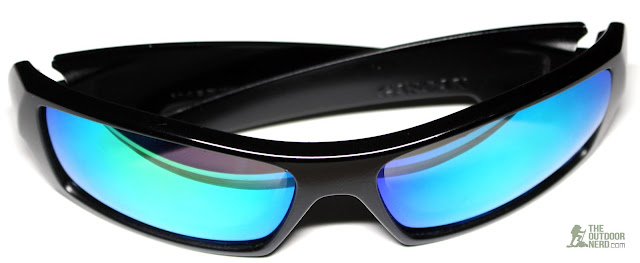 Walleva Replacement Lenses For Oakley GasCan Sunglasses - Green Lenses 2