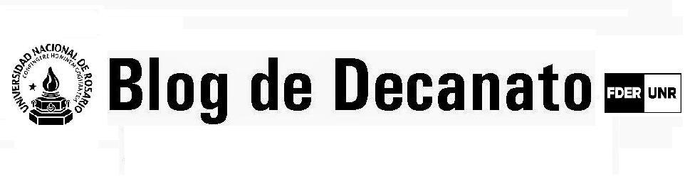 Blog de Decanato