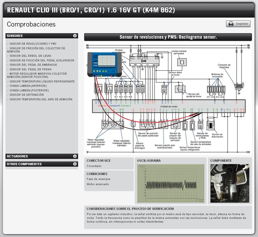 Comprobación del sensor de revoluciones (información extraida de www.dis-net.com)