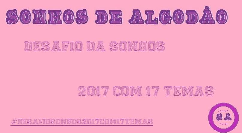 """Desafio Literário """"2017 com 17 temas"""""""
