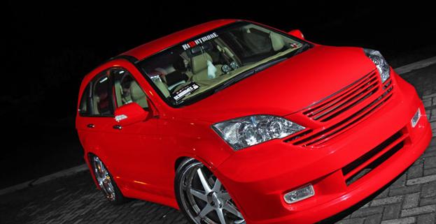 Modifikasi Mobil Honda CRV 2014