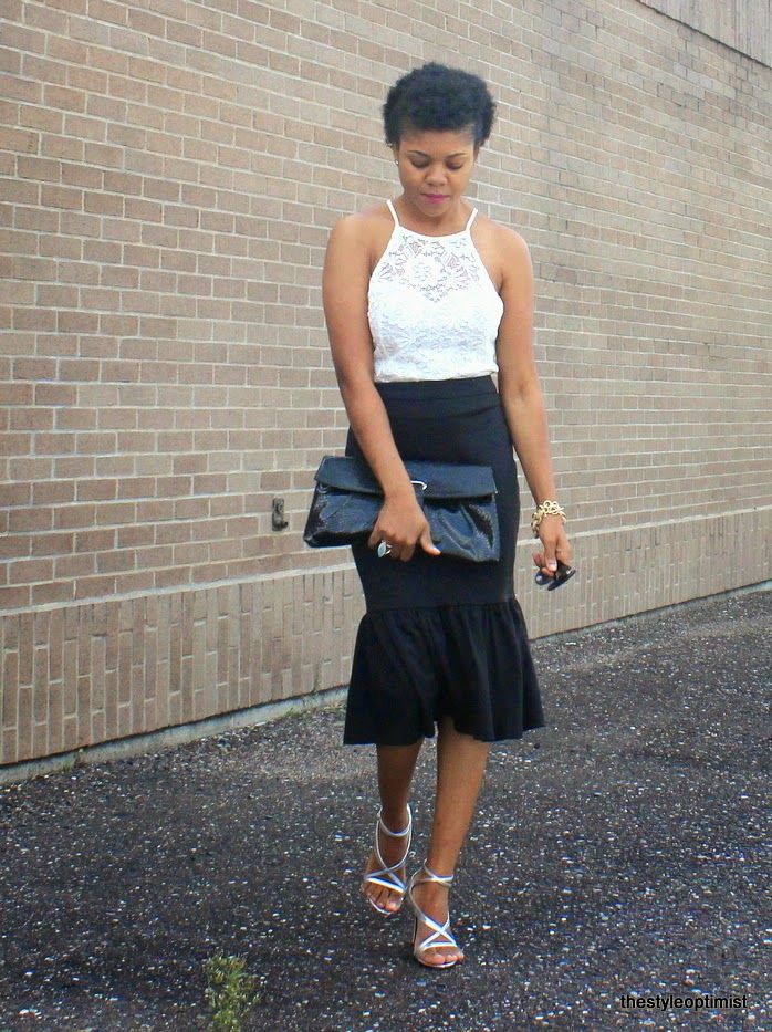how to wear a peplum skirt, asos peplum skirt, minneapolis fashion bloggers, midwest style bloggers, pavelink bracelet