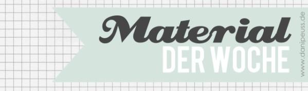 Material der Woche | Embossing Pulver | www.danipeuss.de