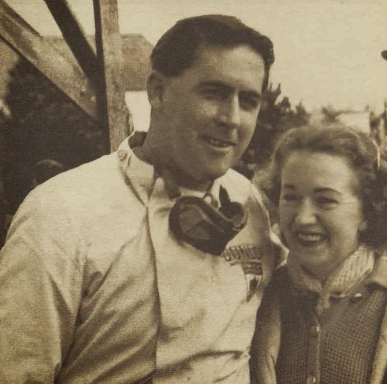 Jack Brabham and wife Betty, 1959