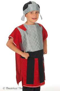 Roman General Kids Costume from Theatrical Threads Ltd