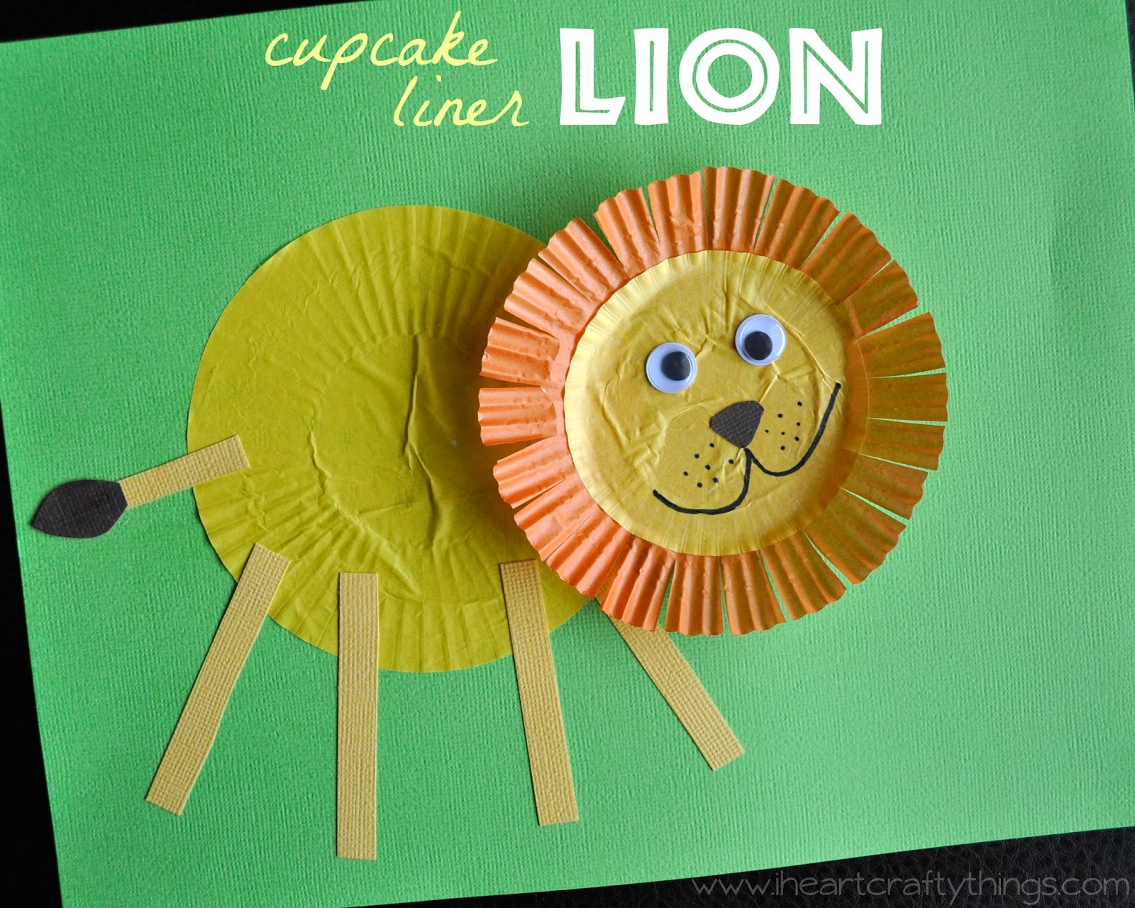 lion preschool craft i crafty things craft from cupcake liners 254