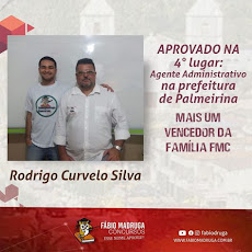 MAIS UM VENCEDOR DA FAMÍLIA F M C  !
