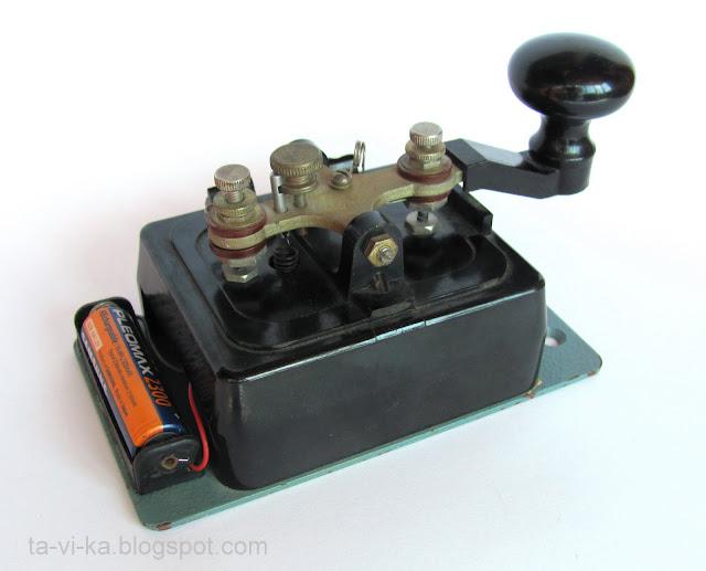 телеграфный ключ радиста