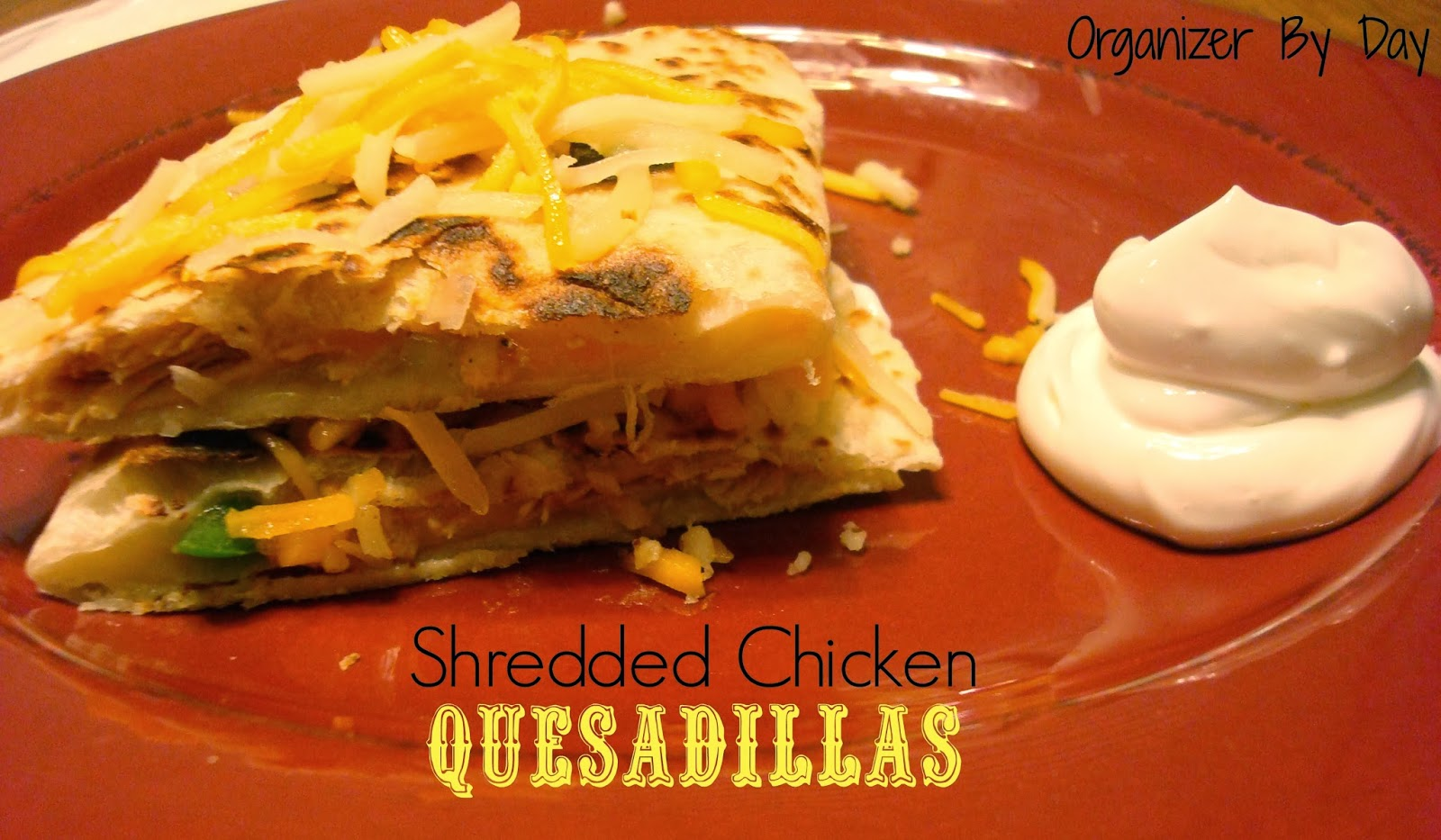 You Can Use The Shredded Chicken Immediately Or Cool And Store In The  Fridge For Up To Three Days I Made Me Some Quesadillas!
