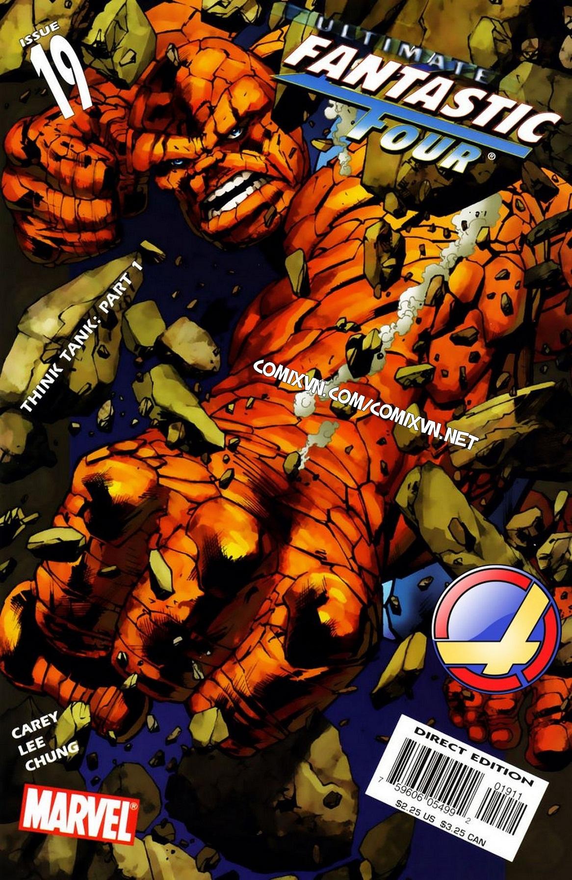 Ultimate Fantastic Four chap 19 - Trang 1