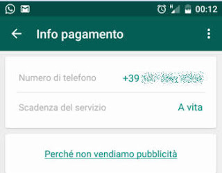 whatsapp diventa gratis