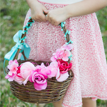 An awesome thrift store basket makeover