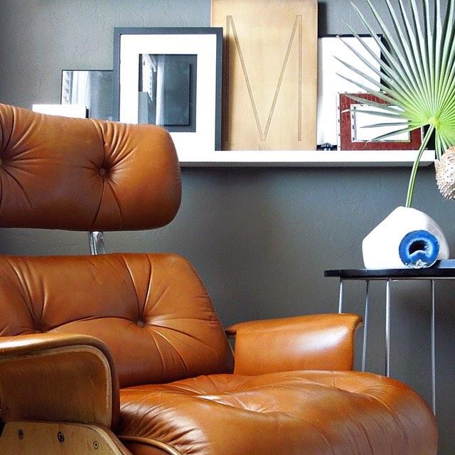 #thriftscorethursday Week 77 | Instagram user: desertdomicile shows off this Eames Chair