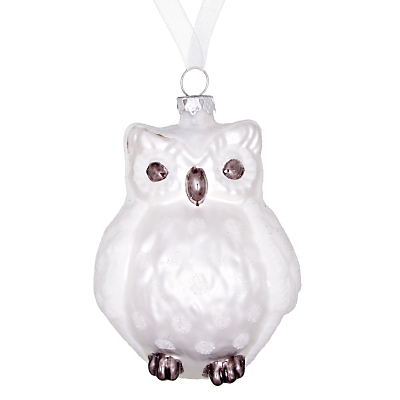 Lavender Biscuit More Christmas Owl Ornaments