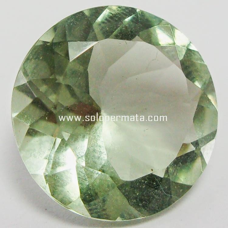 Batu Permata Prasiolite Quartz