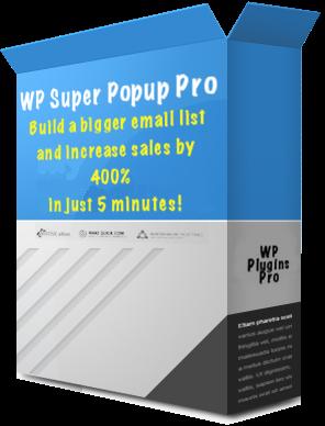 WP Super Popup Pro