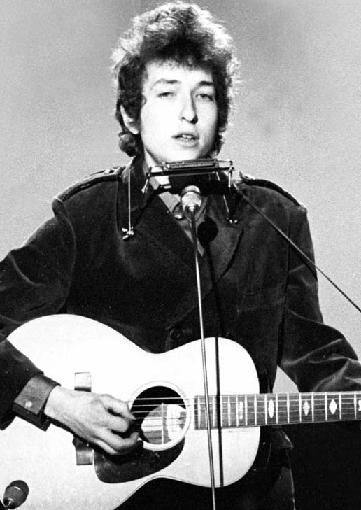 ... to Bob Dylan for Receiving the Presidential Medal of Freedom