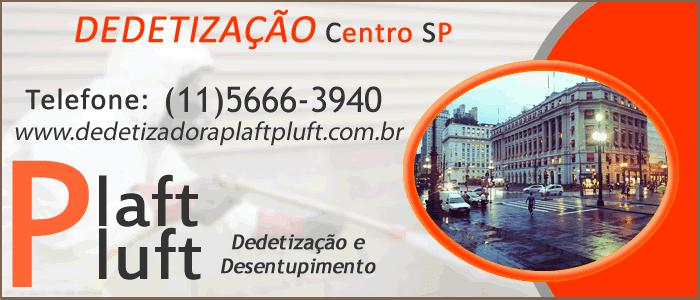 Dedetização Centro de São Paulo 24 Horas
