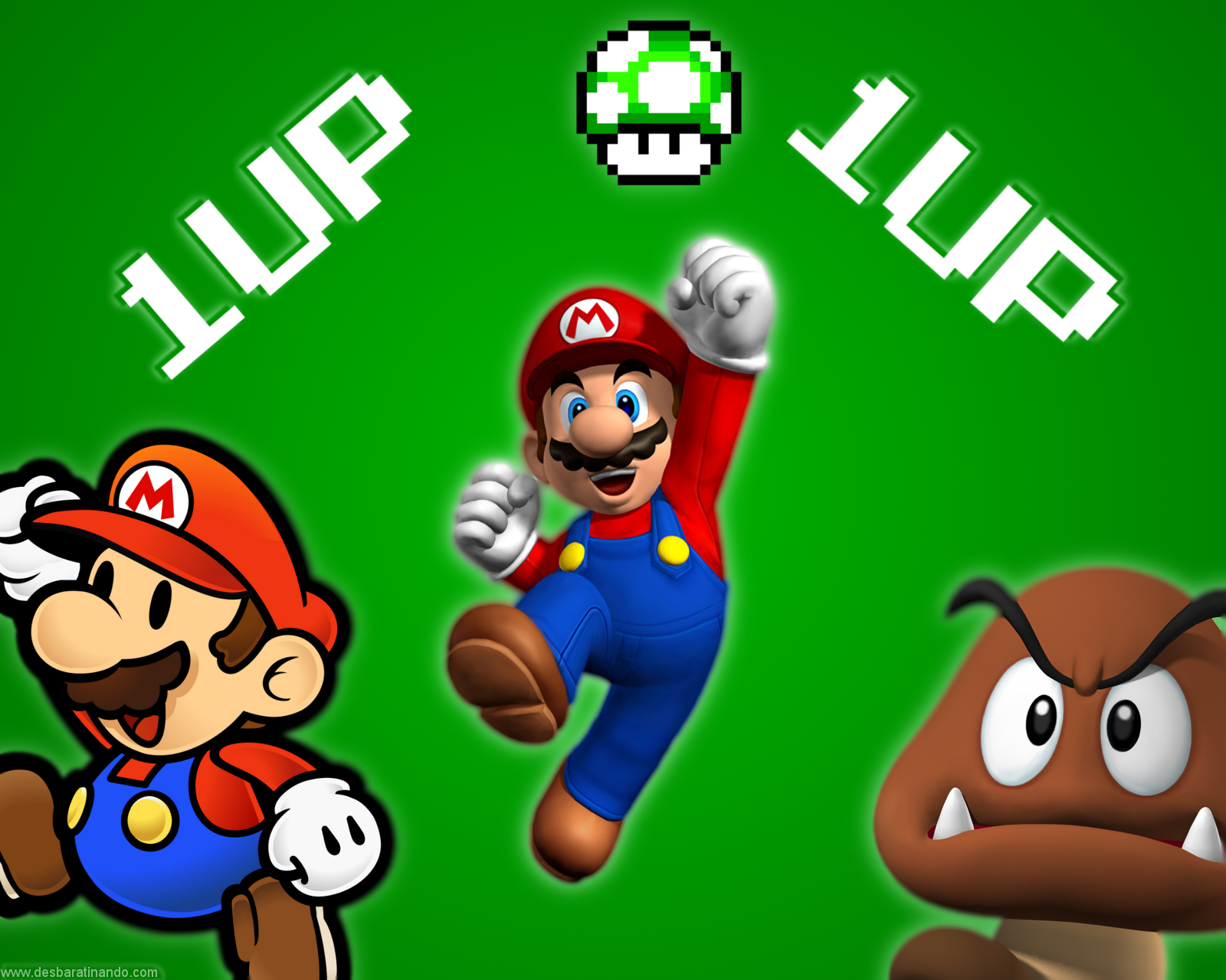 Image result for mario 1 up