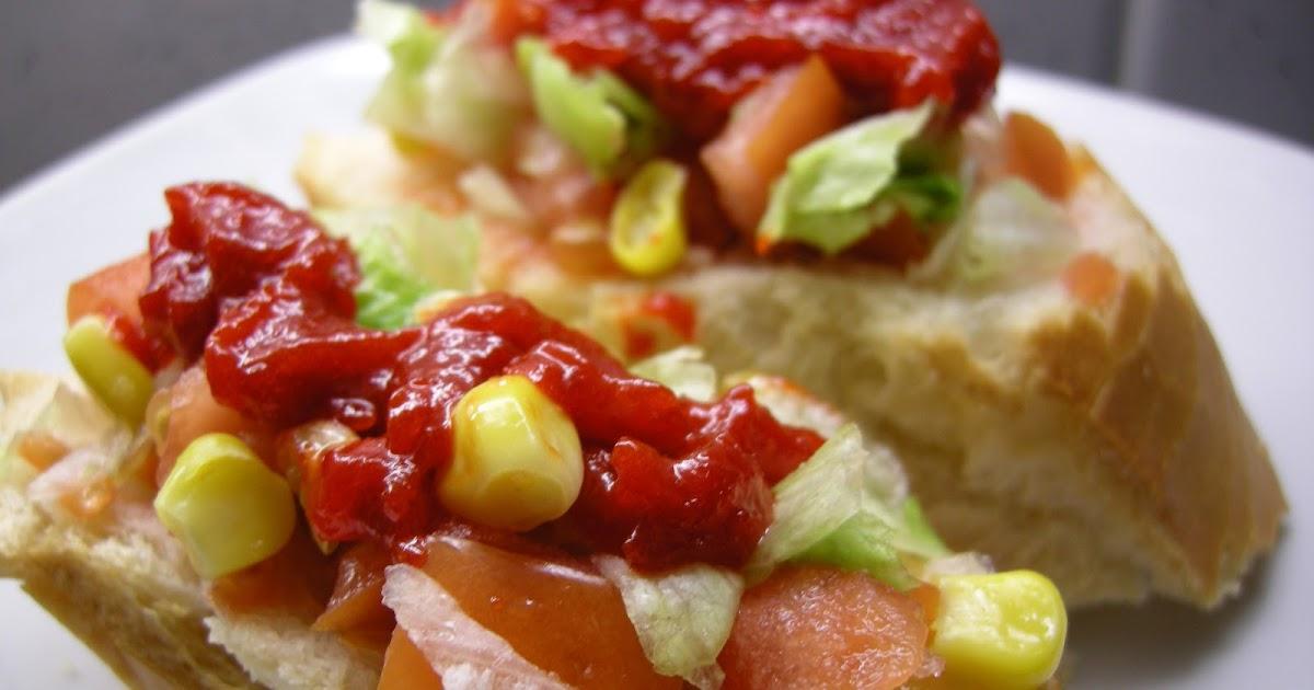 Hoy quiero cocinar montadito de ensalada vegetariana con - Hacer mermelada de pimientos ...