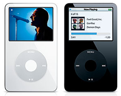 Capabilities of the new iPod video