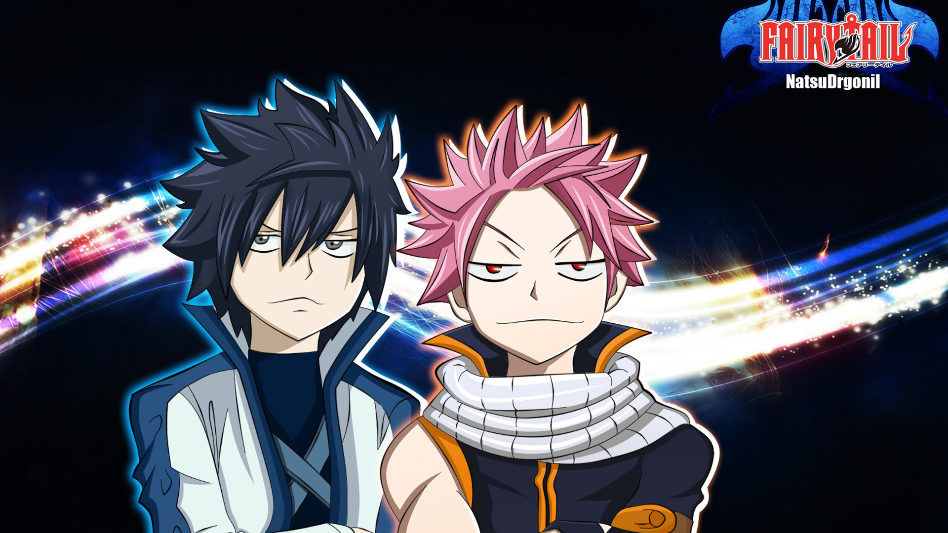 Gray Fullbuster And Natsu Dragneel Fairy Tail Anime