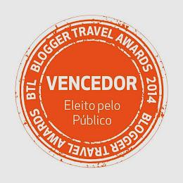 O Viajar entre Viagens foi eleito pelo público como o melhor blog de viagens na BTL 2014.