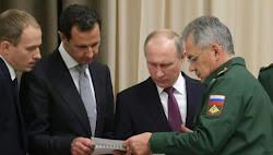 A pesar del cerco abierto por la OTAN en Europa del este y Oriente Medio, Putin triunfa en Siria.
