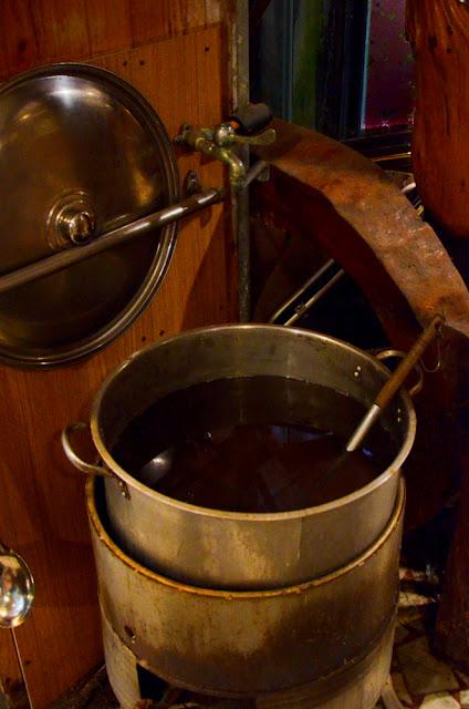 竹筍湯可自行盛舀,也是素的唷