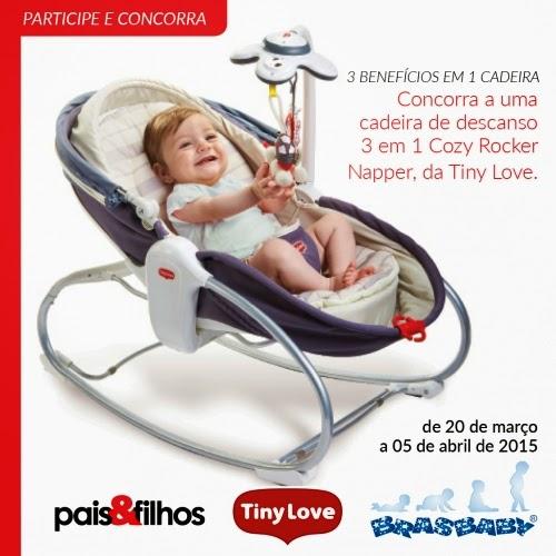 """Promoção Revista Pais & Filhos - """"3 benefícios em 1 cadeira"""""""