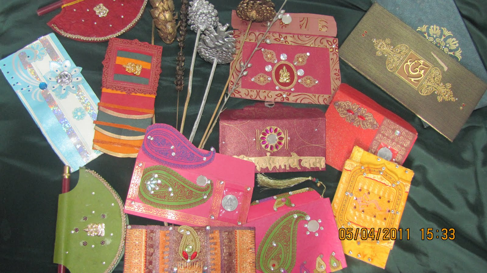 Waste paper crafts for Craftwork from waste