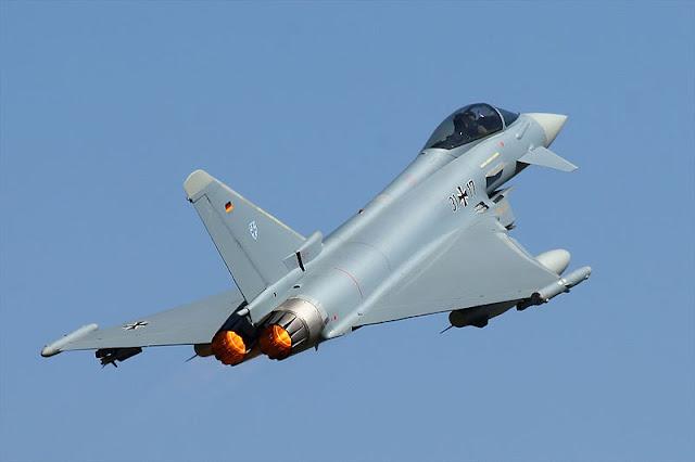 Kuwait Beli 28 Jet Tempur Eurofighter