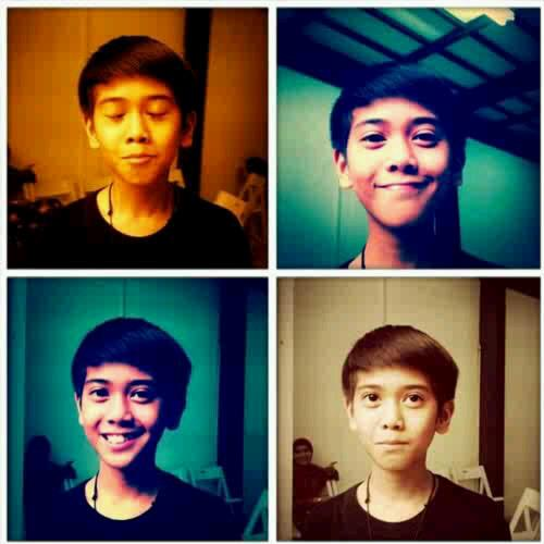 Itulah postingan tentang Foto Iqbal Coboy Junior Terbaru , semoga