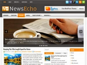 NewsEcho - Free Wordpress Theme