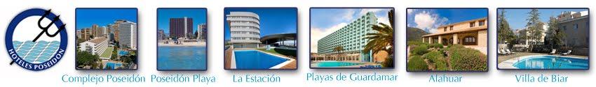 Ofertas e Información de Hoteles Poseidon. Benidorm, Guardamar del Segura, Biar y Vall de Laguar.