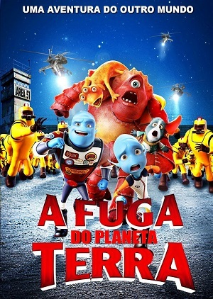 A Fuga do Planeta Terra BluRay Legendado Torrent torrent download capa
