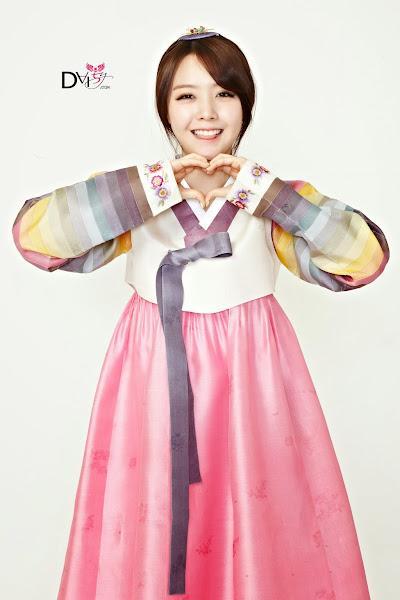 Girls Day Minah Lunar 2014 Hanbok