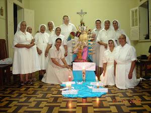 Irmãs no Colégio Anunciaçao - Pará
