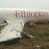 Ethiopian airline cargo aircraft traveling from Lome, Togo to Accra Ghana  Crash-Lands At Accra Airport